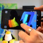 Nuage de points caméra 3D