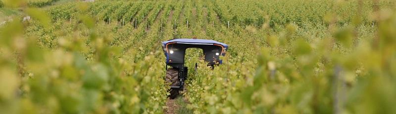 véhicules autonomes agriculture vignes ifm