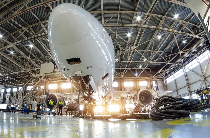 usine aéronautique maintenance